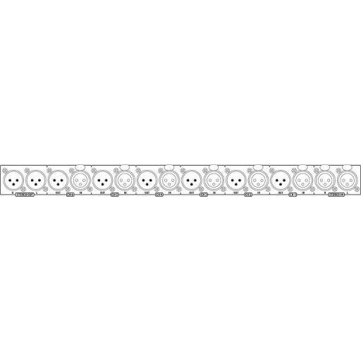 Stage Line Lms-808 Mezclador/Distribuidor de Línea/Micrófono [1]