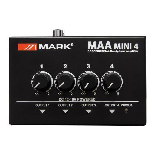 Mark Maa Mini 4 Amplificador de Auriculares