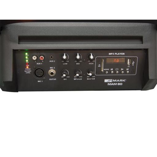 Mark Mam 80 Usb/Sd/Fm/Bt Sistema de Audio Portátil [2]