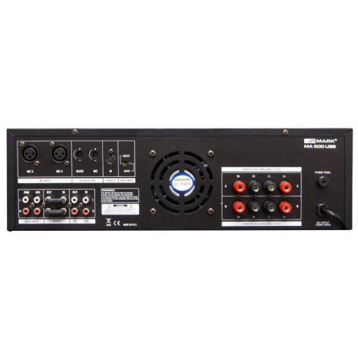 Mark Ma 500 Usb Amplificador Estéreo [1]