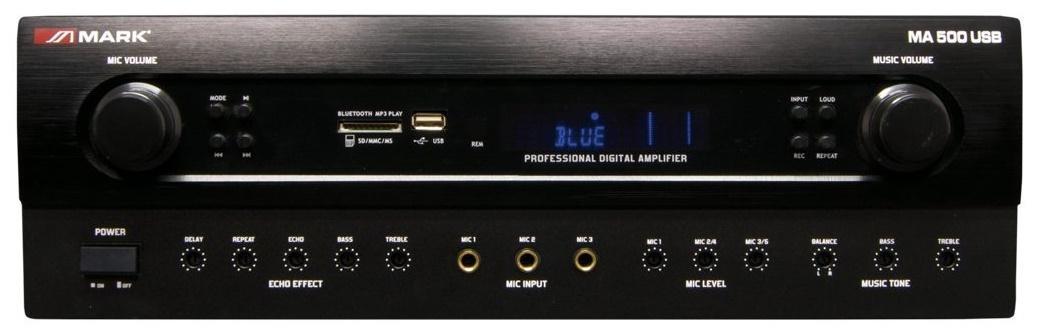 Mark Ma 500 Usb Amplificador Estéreo
