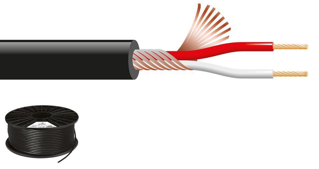 Cable de Micrófono Mc-102/Sw (100 mts.)