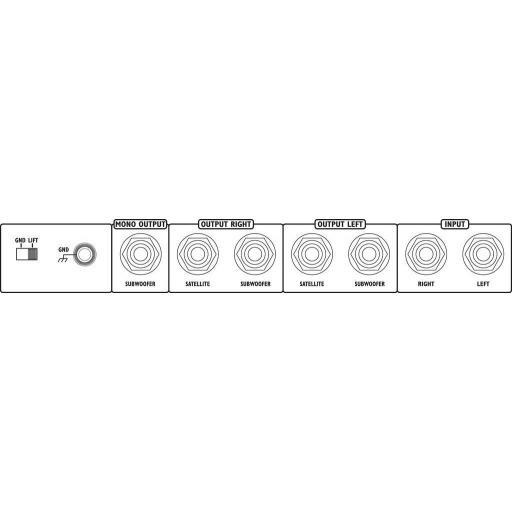 Monacor Mcx-200/Sw Crossover Electrónico [1]