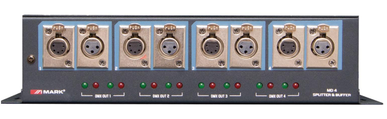 Mark Md 4 Splitter Distribuidor Dmx