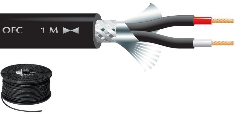 Cable de Micrófono Mlc-122/Sw (100 mts.)