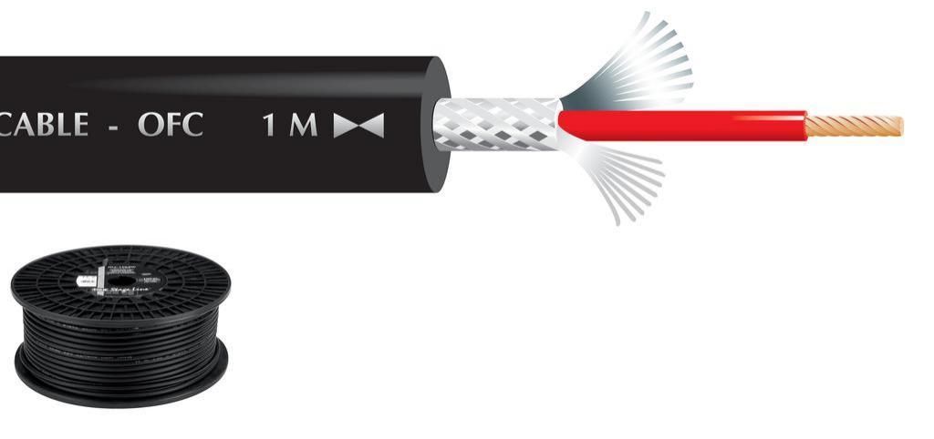 Cable de Micrófono Mlc-150/Sw (100 mts.)