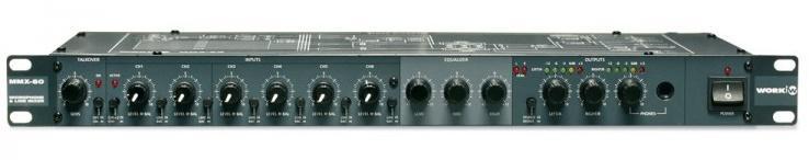 Work Mmx 60 Mezclador de Audio