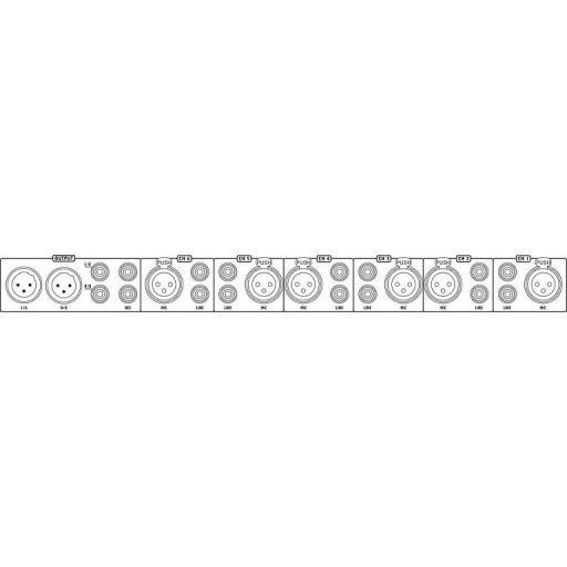 Stage Line Mmx-602/Sw Mezclador de Micrófono/Línea [1]