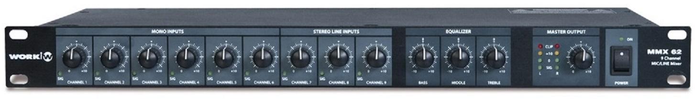 Work Mmx 62 Mezclador de Audio