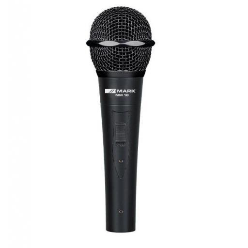 Mark Mic M10 Micrófono Dinámico con Interruptor
