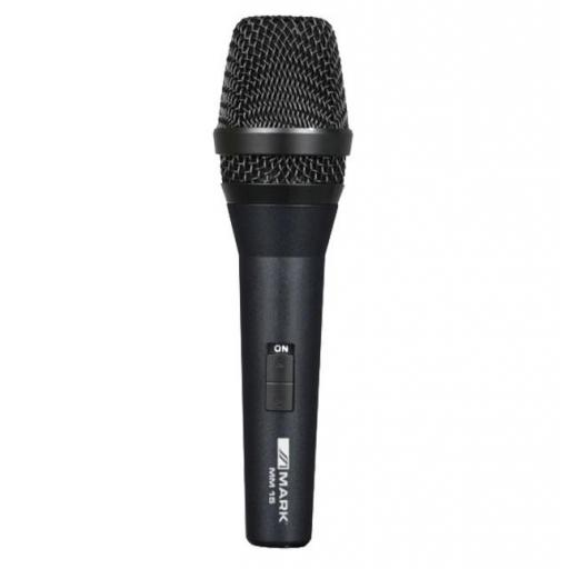 Mark Mic M15 Micrófono Dinámico con Interruptor