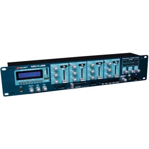 Mark Mm 4 Usb Mezclador/Reproductor digital de audio [1]