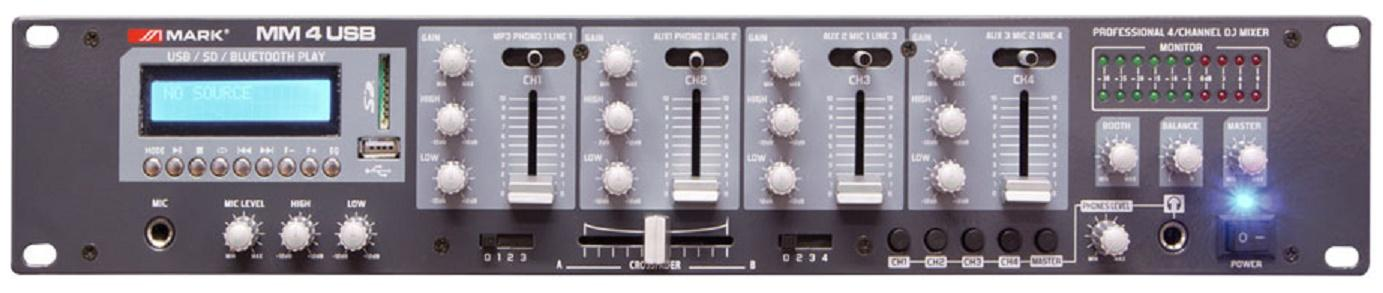 Mark Mm 4 Usb Mezclador/Reproductor digital de audio