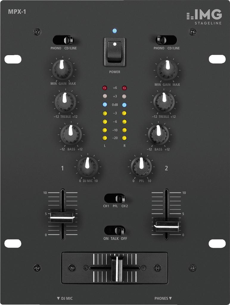 Stage Line Mpx-1/Bk Mezclador Dj