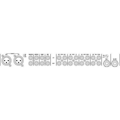 Mezclador Dj Stage Line Mpx-44/Sw [1]