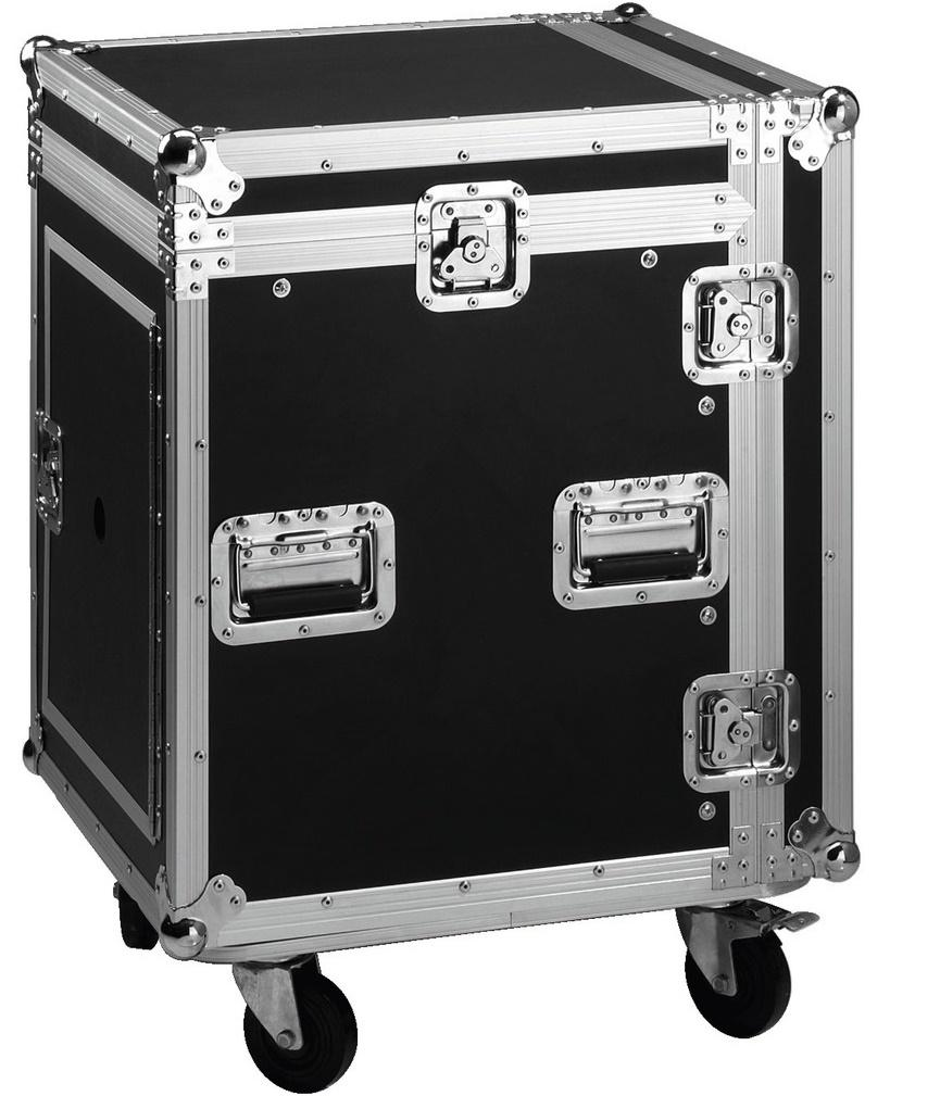 Stage Line Mr-112Dj Flightcase 12U+10U con Ruedas