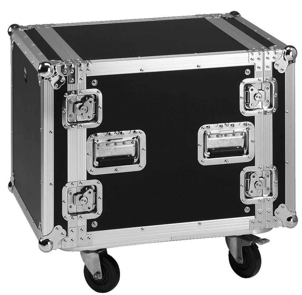 Stage Line Mr-710 Flightcase 10U con ruedas