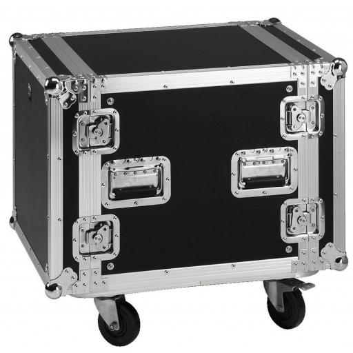 Stage Line Mr-710 Flightcase 10U con ruedas