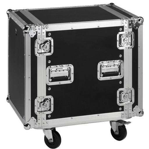 Stage Line Mr-712 Flightcase 12U con ruedas