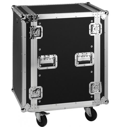 Stage Line Mr-716 Flightcase 16U con ruedas