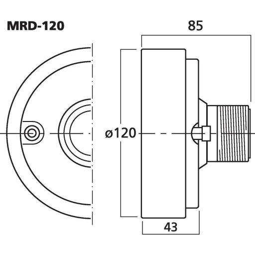 Stage Line Mrd-120 Motor de Agudos [1]