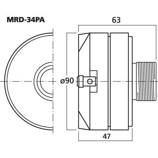 Stage Line Mrd-34Pa Motor de Agudos [1]