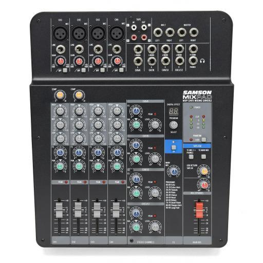 Samson MixPad Mxp124Fx Mesa de Mezclas.