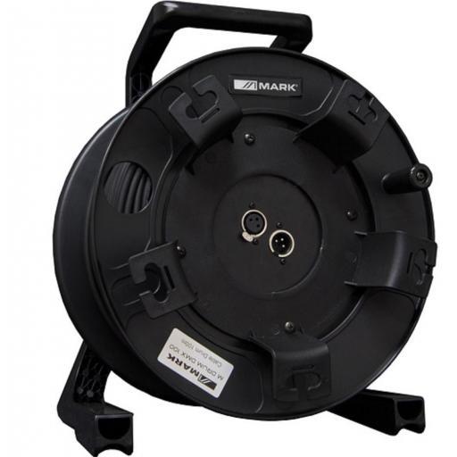 Mark M Drum Dmx 100 Carro con cable Dmx 100 mts.