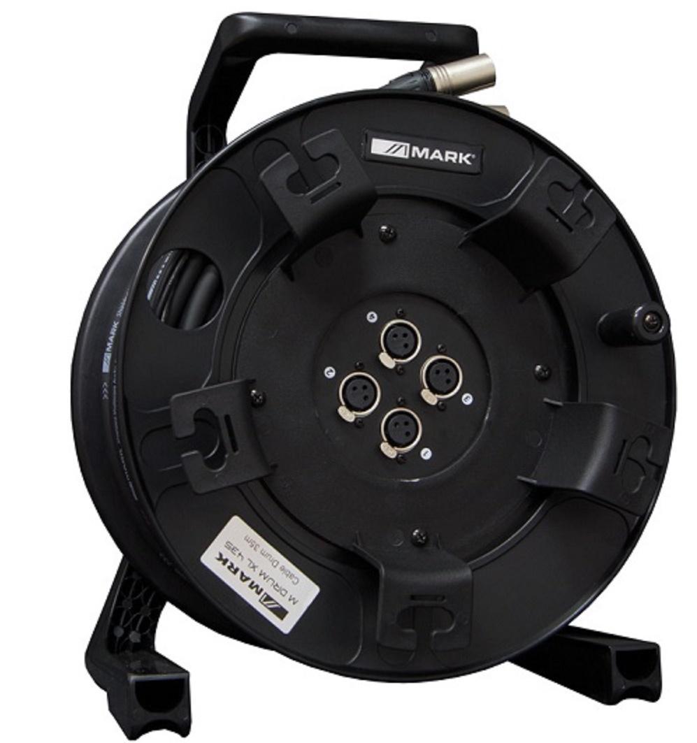 Mark M Drum Xl 435 Bobina de Cable de Micrófono 35 mts.