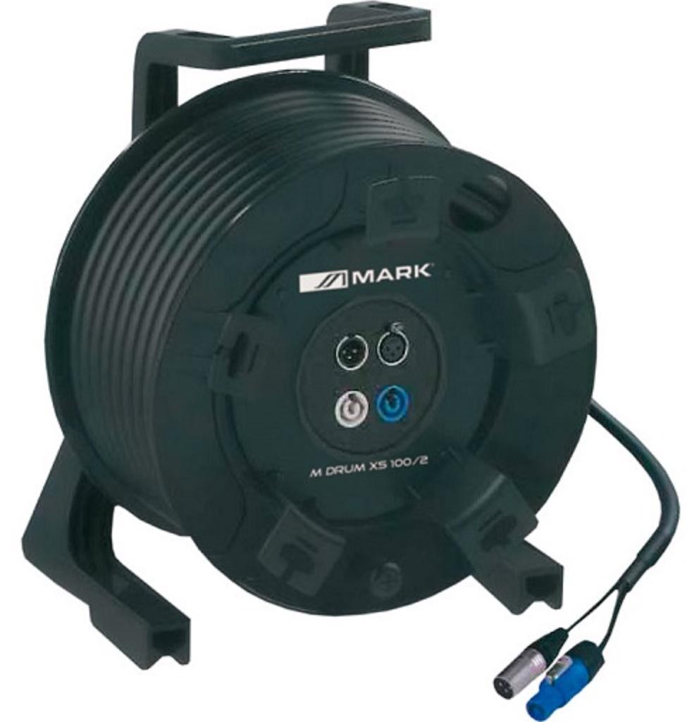 Mark M Drum Xs 100/2 Bobina Cable de señal+alimentación 25 mts.