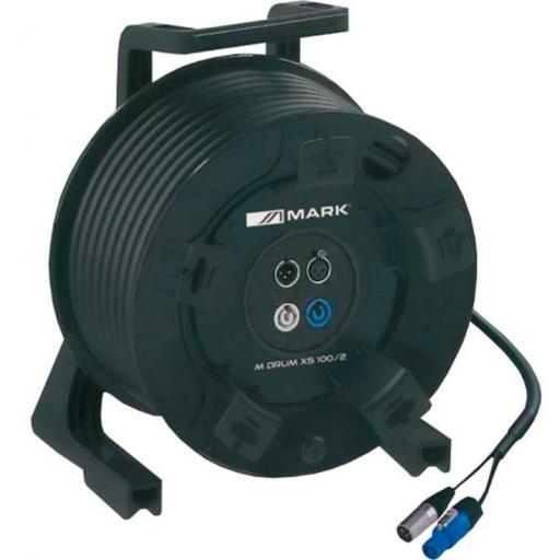 Mark M Drum Xs 100/2 Bobina Cable de señal+alimentación 25 mts. [0]