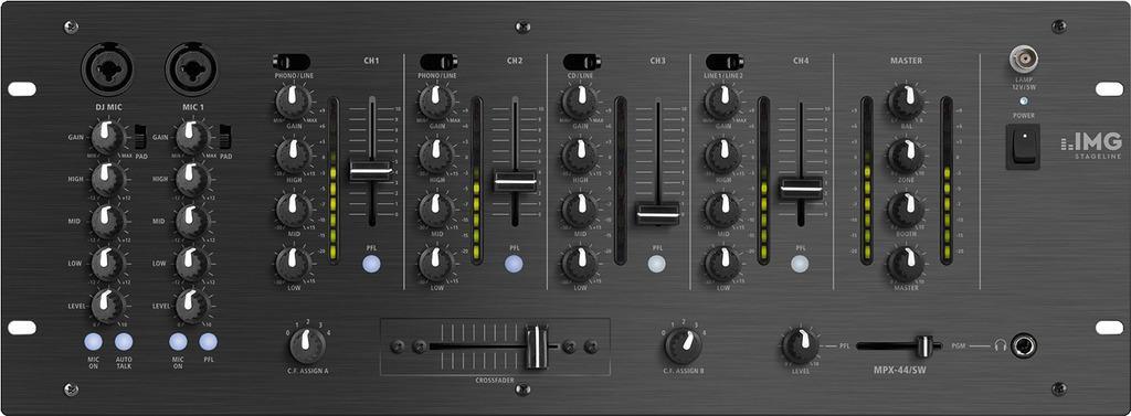 Mezclador Dj Stage Line Mpx-44/Sw