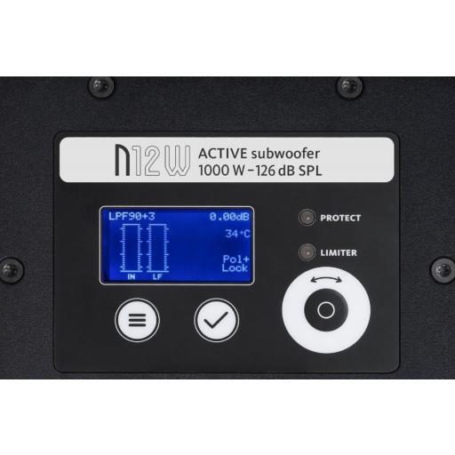 Master Audio N12w Subgrave Amplificado [1]
