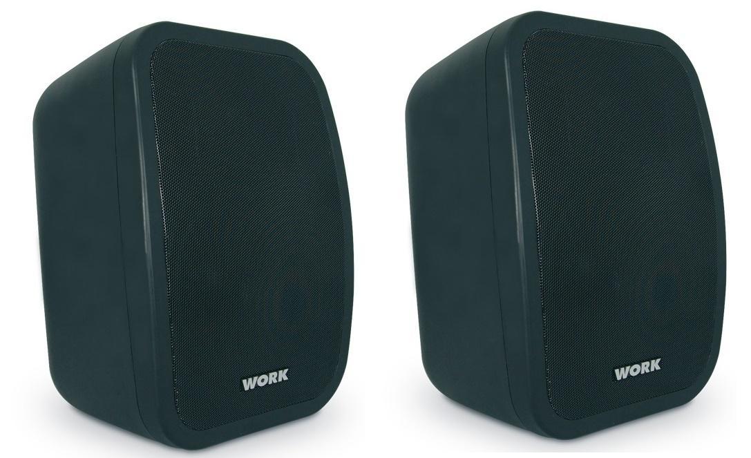 Work Neo 5A Bt Negro Altavoz amplificado para instalación (Pareja)