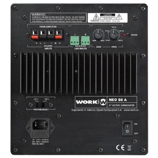 Work Neo Set 100 Bt Negro Sistema de audio con Bluetooth [1]