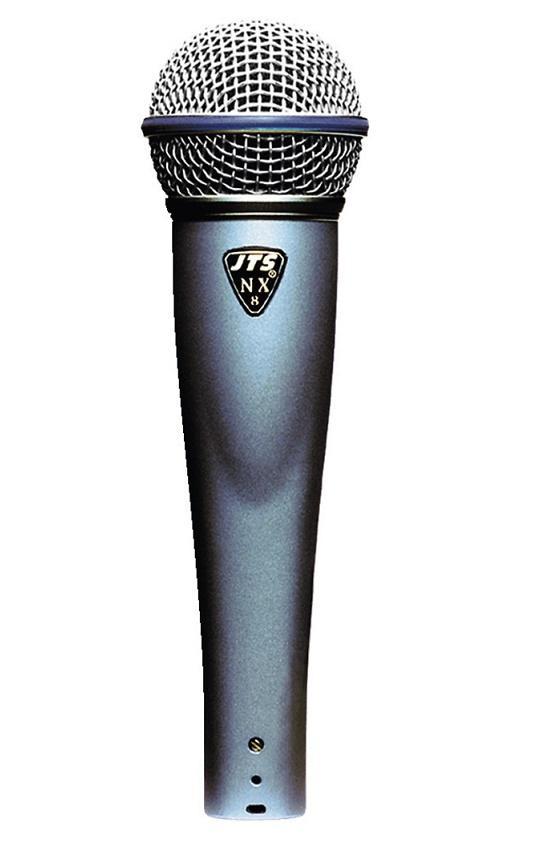 Jts Nx-8 Micrófono Dinámico Vocal