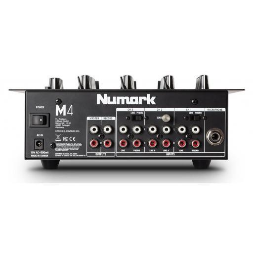 Numark M4 Black Mezclador Dj [1]