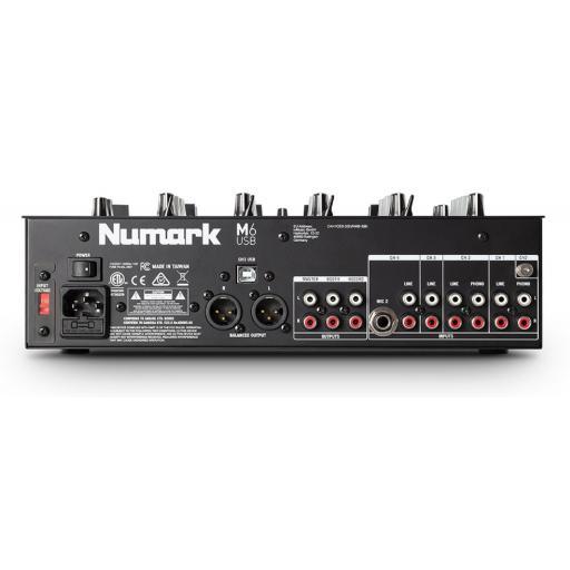 Numark M6 Usb Black Mezclador Dj [1]