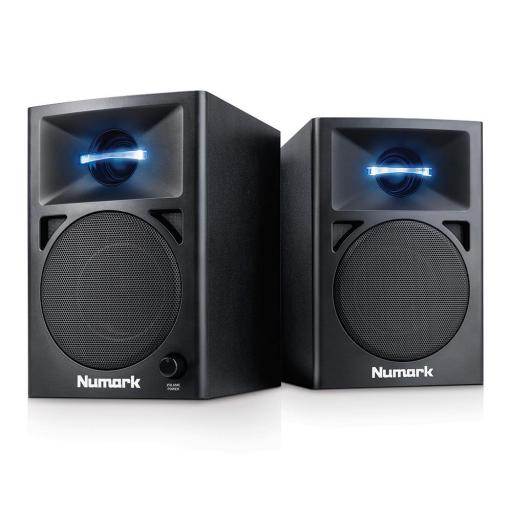 Numark NWave360 Monitores Amplificados de Sobremesa