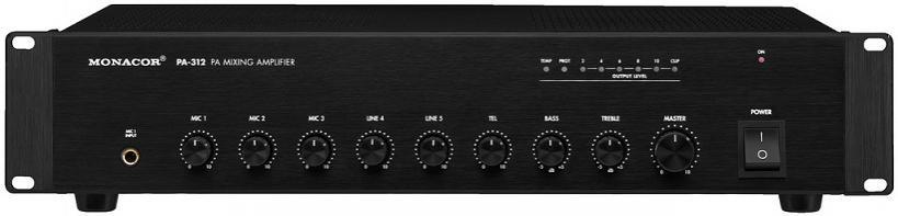Monacor Pa-312 Amplificador / Mezclador para megafonía