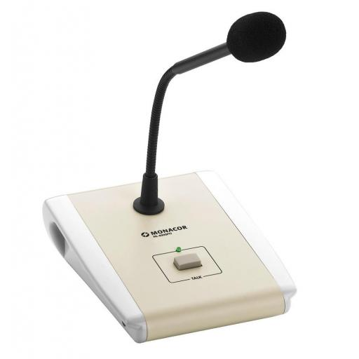 Monacor Pa-4000Ptt Micrófono de Sobremesa para Megafonía