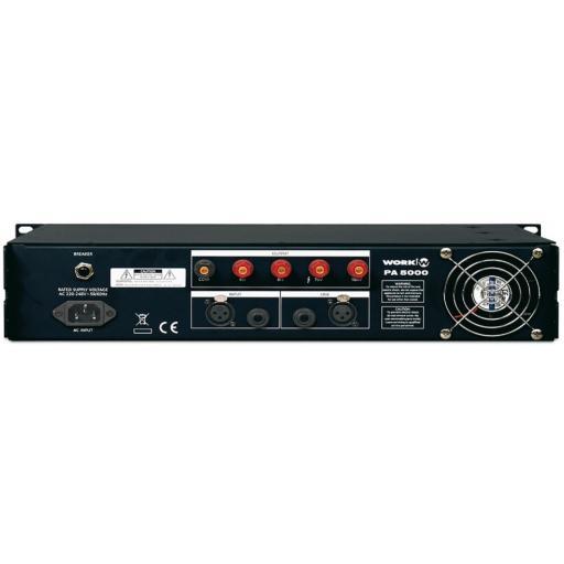 Work Pa 5000 Amplificador de Megafonía [1]