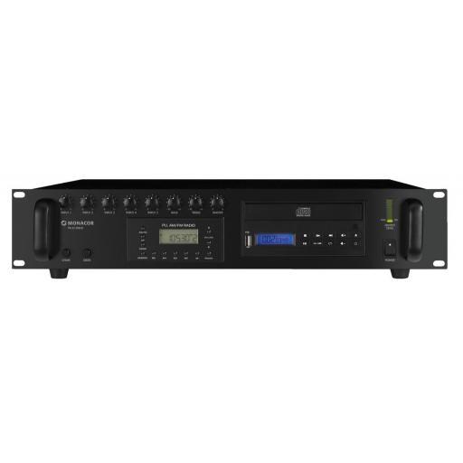 Monacor Pa-8120Rcd Amplificador / Mezclador para megafonía [0]