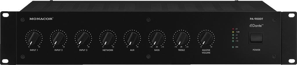 Monacor Pa-900Dt Amplificador/Mezclador para Megafonía
