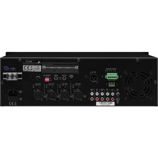 Monacor Pa-948 Amplificador/Mezclador para Megafonía [1]