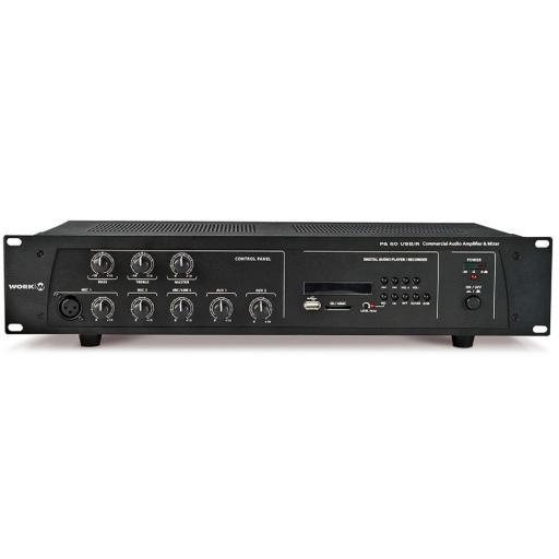 Work Pa 60 Usb/R Amplificador/Mezclador para Megafonía [0]