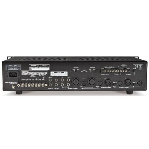 Work Pa 120/2 Amplificador/Mezclador para Megafonía [1]