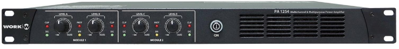 Work Pa 1254 Amplificador 4 Canales para Megafonía