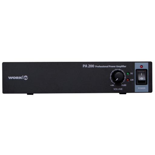 Work Pa 200 Amplificador para Megafonía