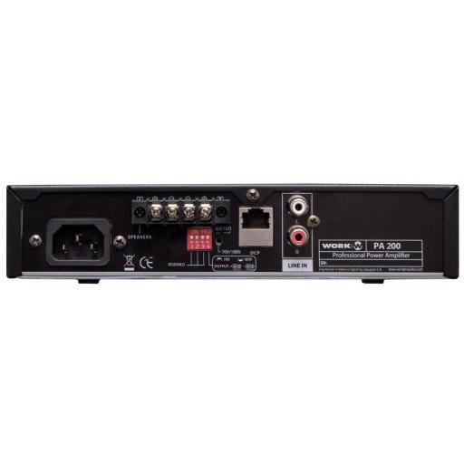 Work Pa 200 Amplificador para Megafonía [1]